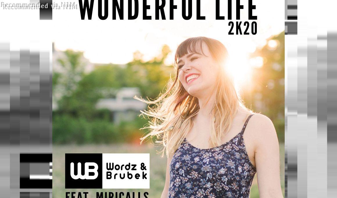 Wordz & Brubek feat. Miricalls - Wonderful Life 2K20 (Radio Edit)