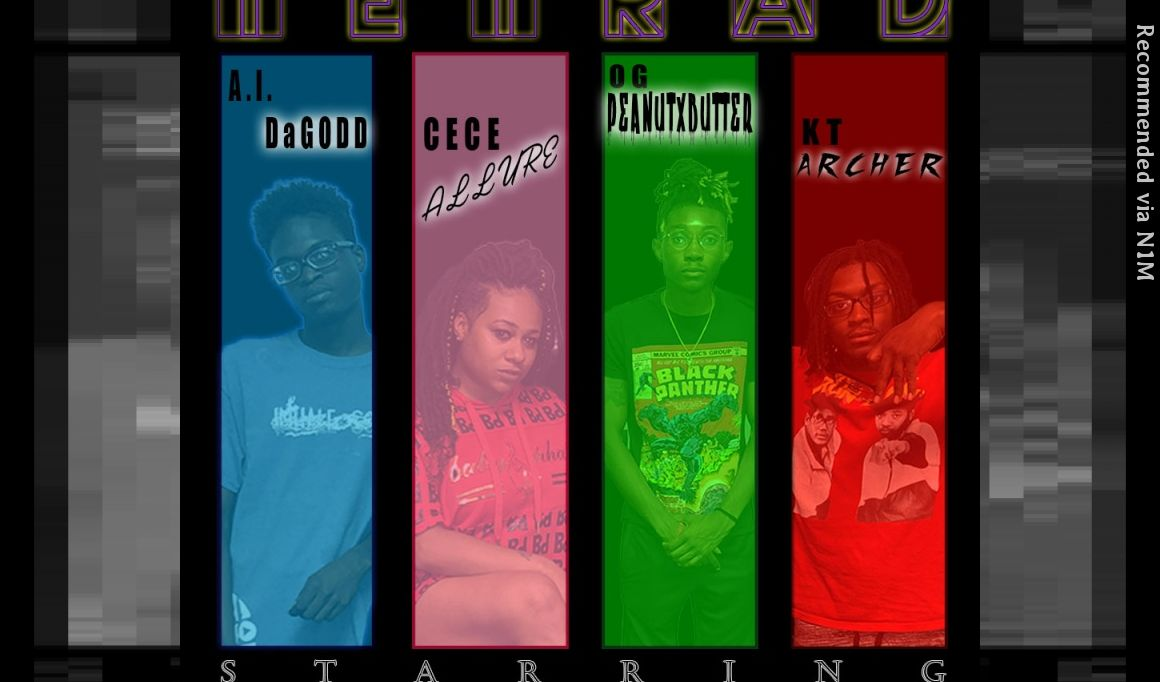 TETRAD starring CeCe Allure with OG PeanutXButter, KT-Archer and A.I. D