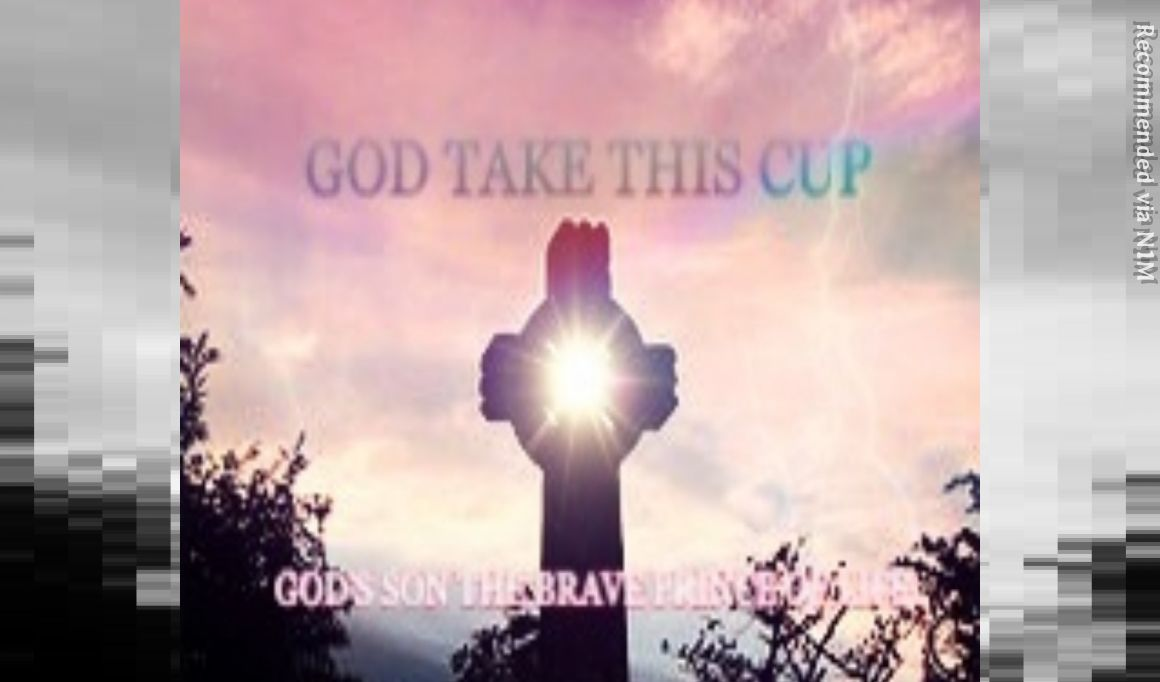 God's Son The Brave Prince of Life- GOD Take This Cup