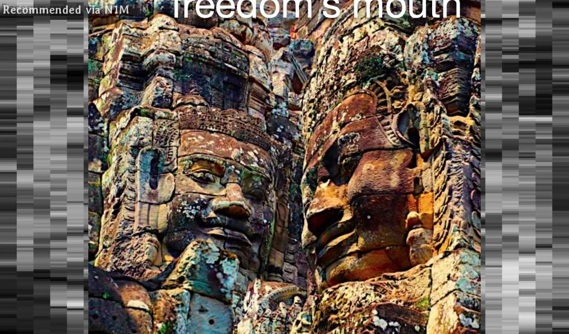 freedom's mouth