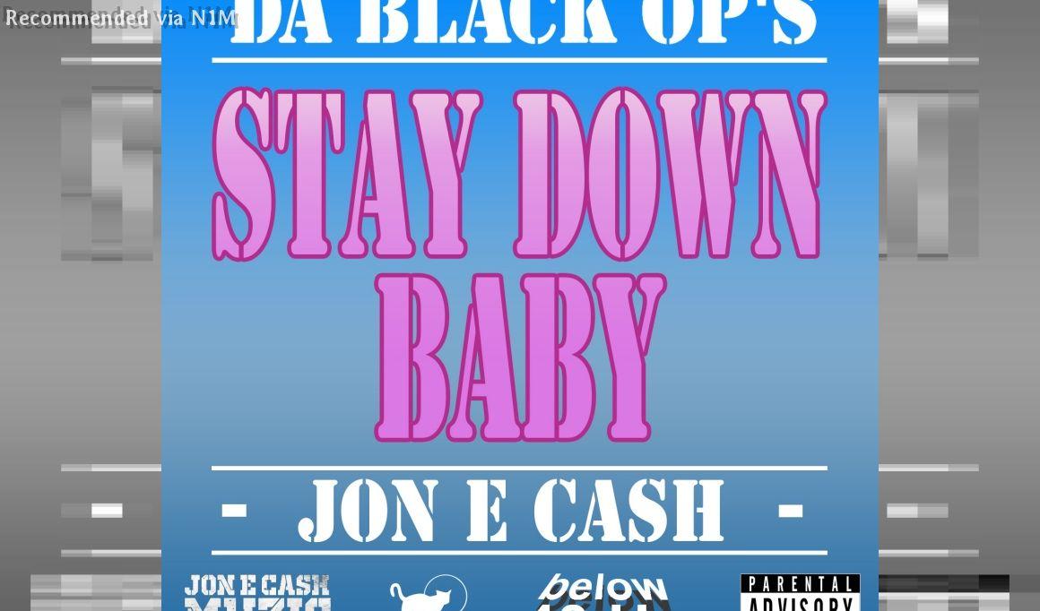 JON E CASH STAY DOWN BABY