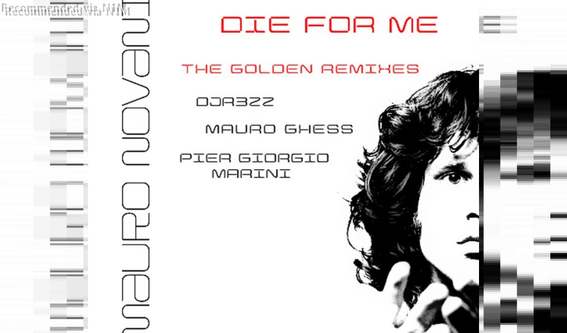 MAURO NOVANI - DIE FOR ME (THE DARK SIDE REMIX)