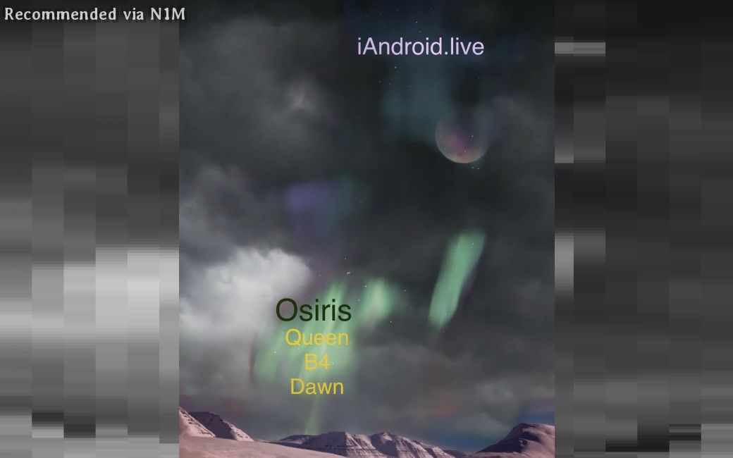 Osiris, Queen B4 Dawn