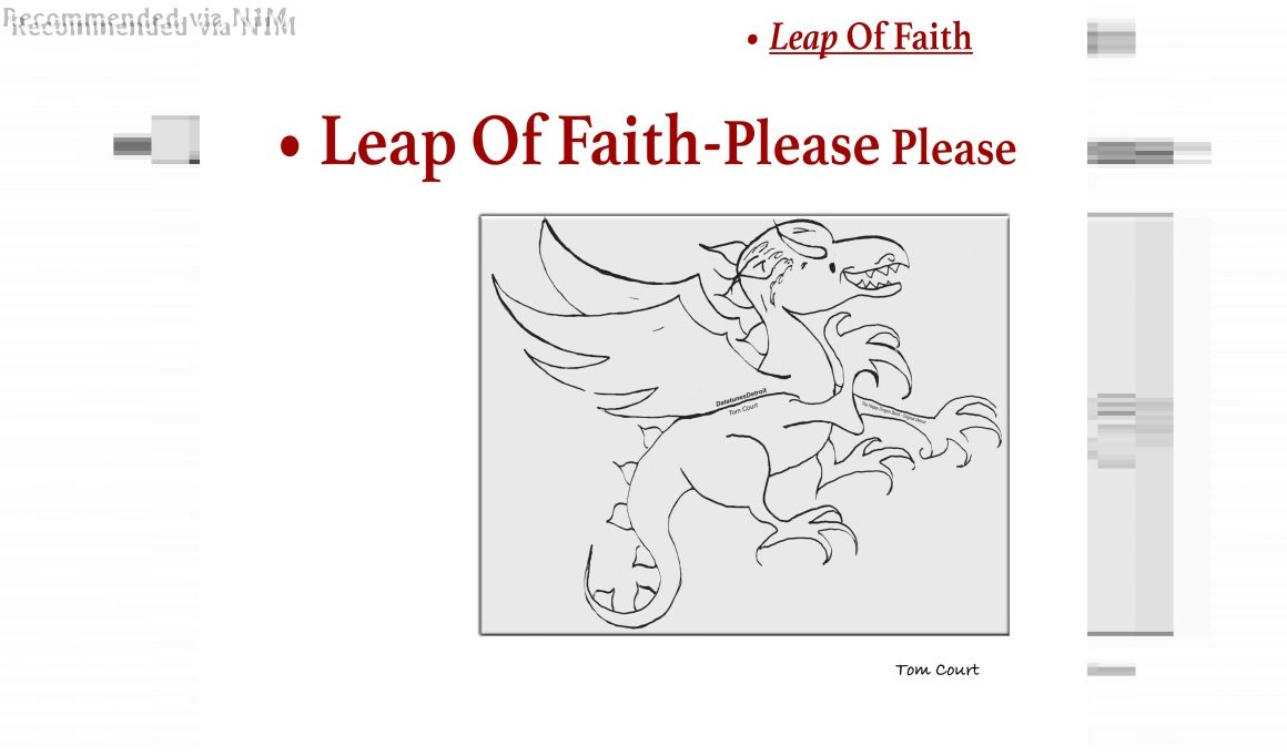 Leap Of Faith-Please Please