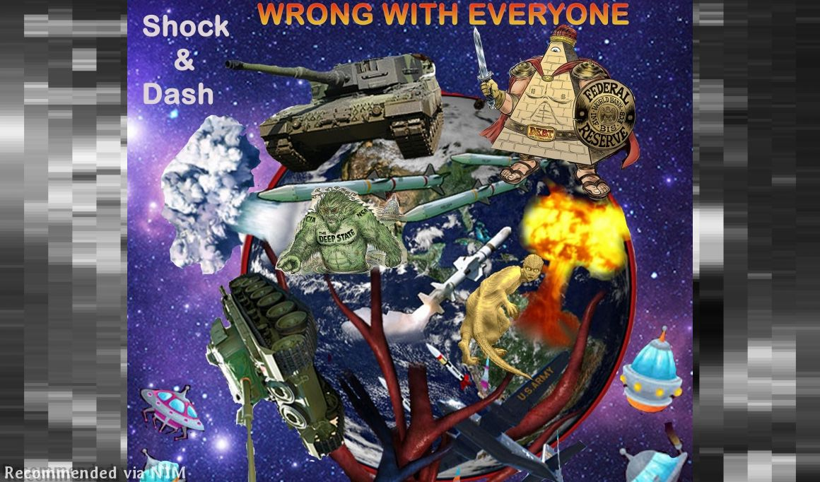 Wrong With Everyone by JT-Blaze Feat. Shock & Dash (Prod. by Wyshmaster Beats)