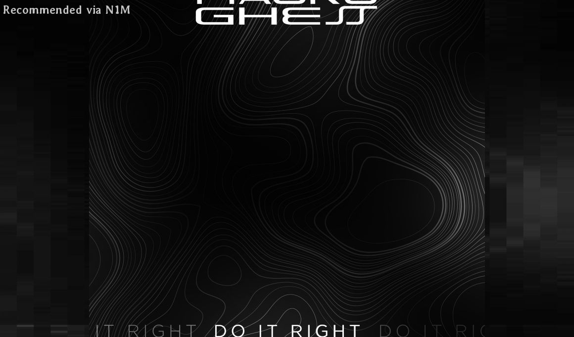 Mauro Ghess - Do It Right (Mauro Novani Remix)