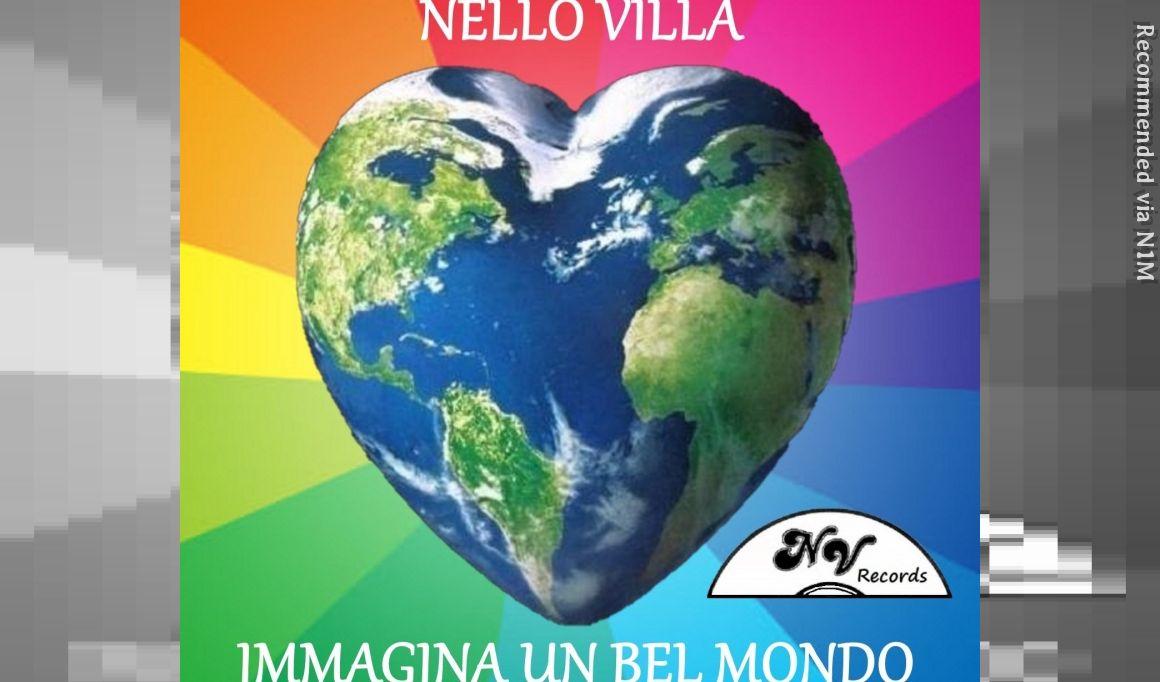 """Immagina un bel mondo - Italian version of the original cover """"Imagine"""" by John Lennon"""