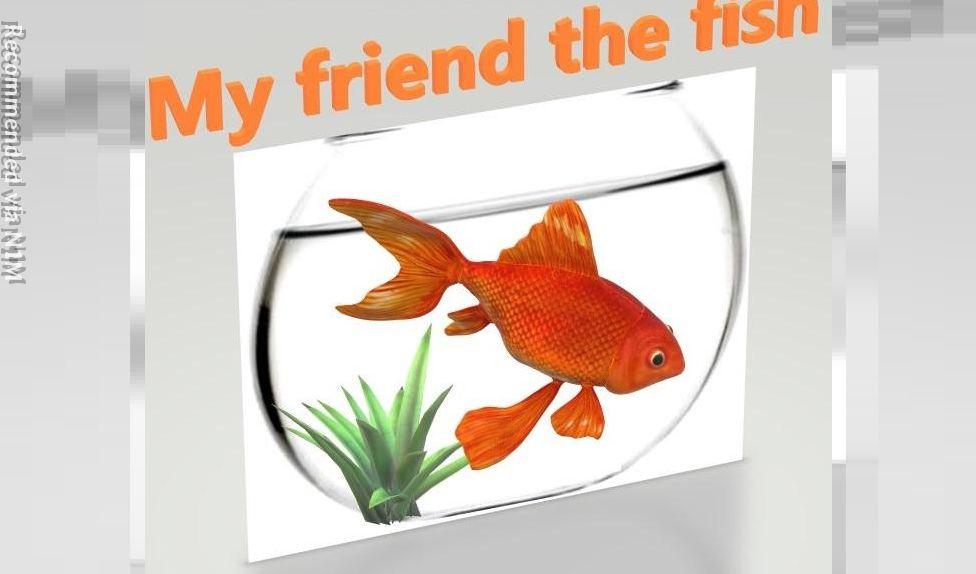 Mon ami le Poisson - my friend the fish