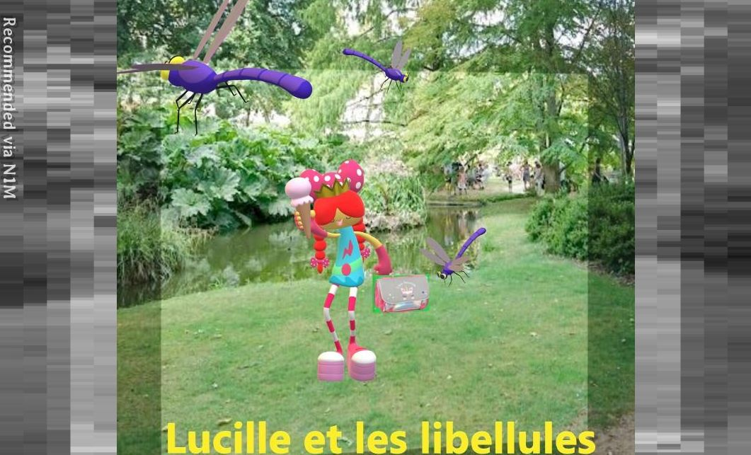 LUCILLE ET LES LIBELLULES