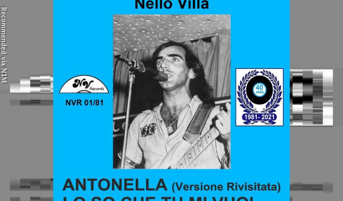 Antonella - Nello Villa and Hydra group - Digital Single - Revised Version
