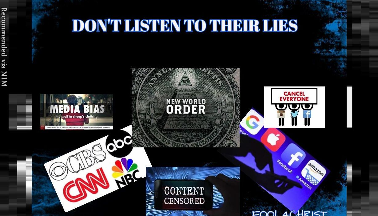 DON'T LISTEN TO THEIR LIES / JN.8:44