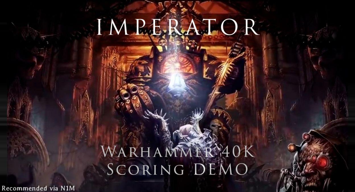 Imperator: Warhammer 40K Scoring Demo