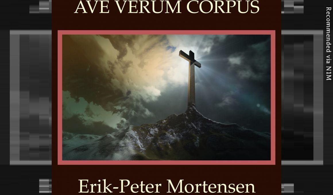Ave Verum Corpus for TTBB male voices