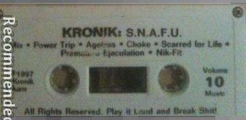 kronik - S.N.A.F.U.