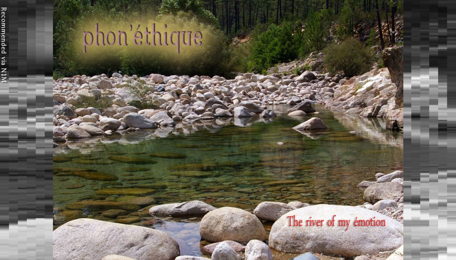 The river of my émotion