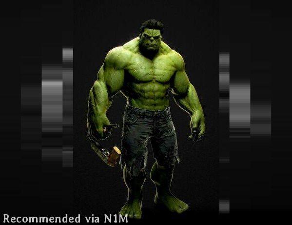Goin Hulk on Em