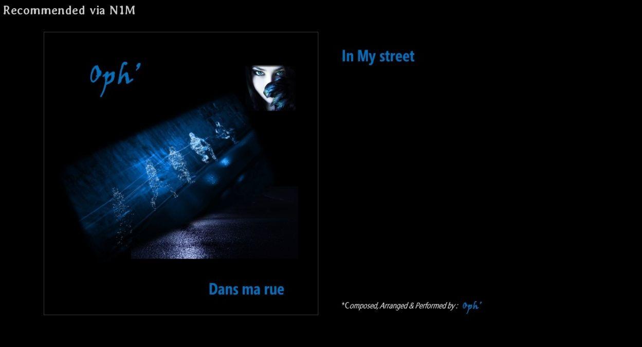 Dans ma Rue (In my street)