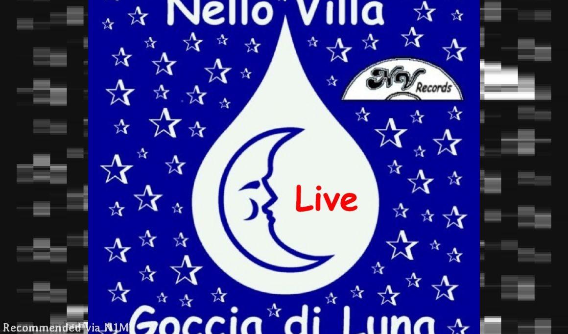 Goccia di luna (medley 4 songs live Ep digital) 1. Goccia di luna - 2. Io cambierò - 3. Regalami una sera - 4. Montecarlo (P) 2011 NV Records.