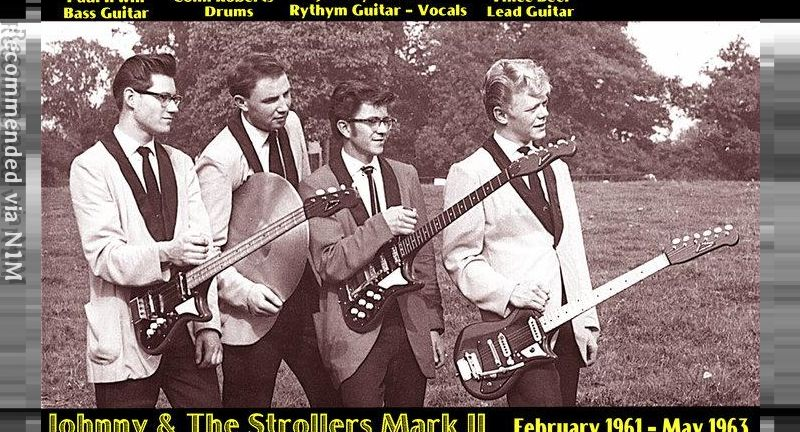 THE YOUNG ONES - JOHNNY RAMONE and the STROLLERS live 1960s recording