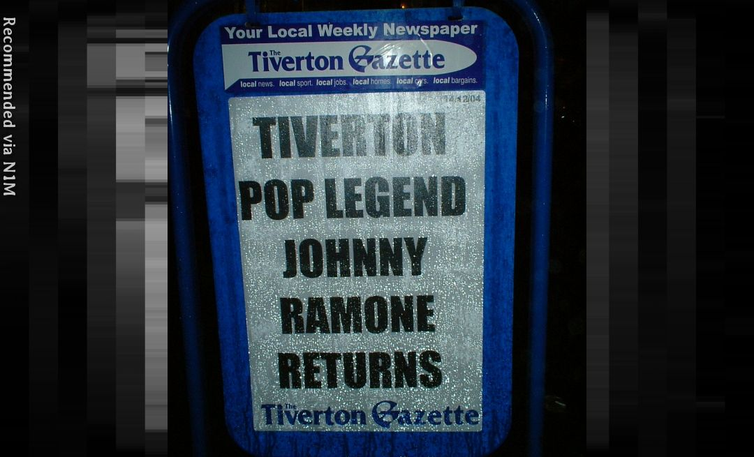 RHINESTONE COWBOY - JOHNNY RAMONE ON AIM RECORDS