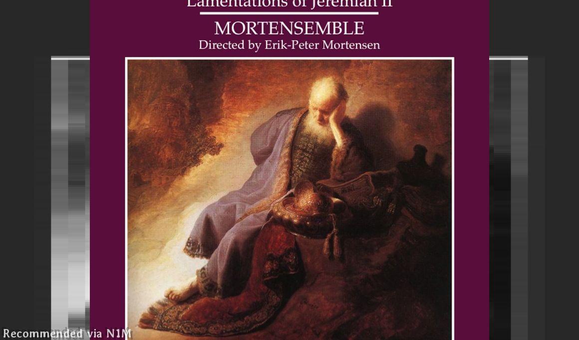 The Lamentations of Jeremiah-Part 2: Thomas Tallis