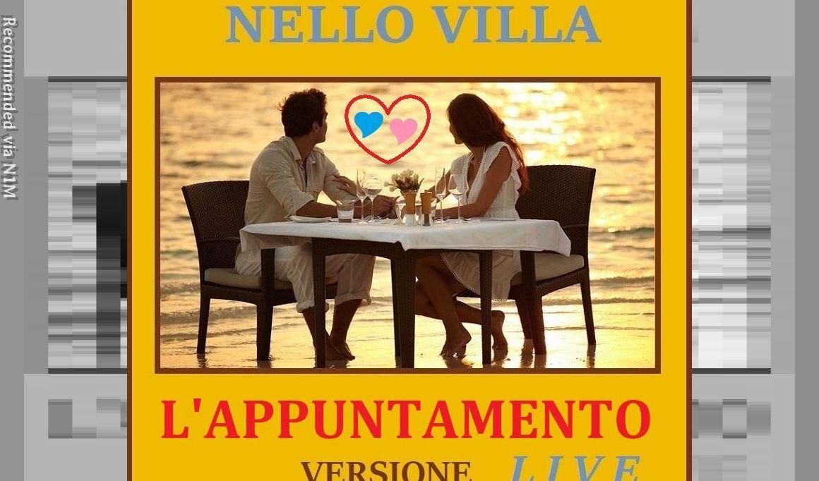 L'Appuntamento - Live Version - Performance by Nello Villa in Genoa