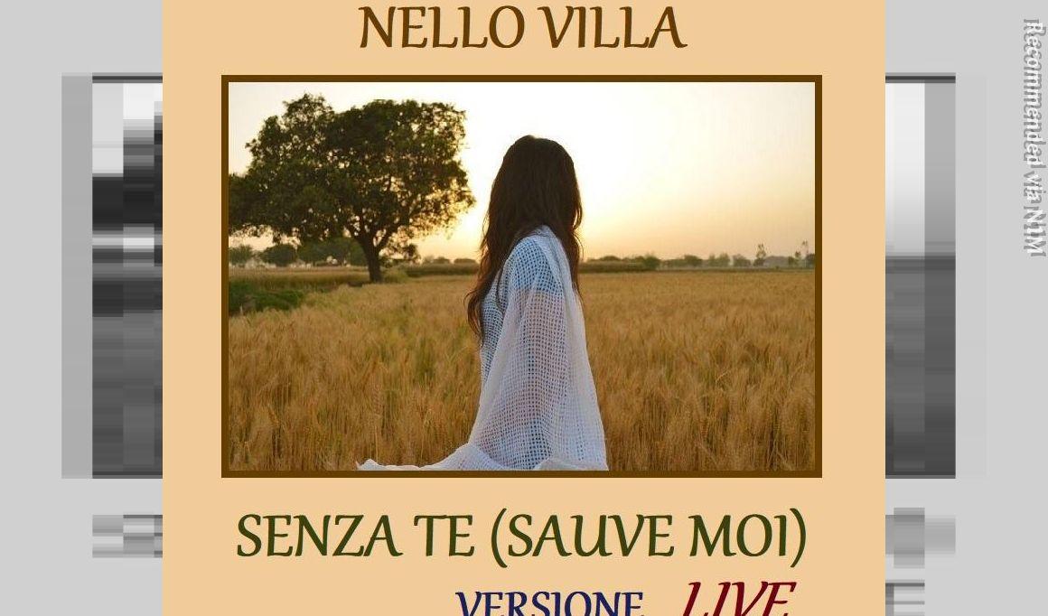 "Senza te - Live italian version cover ""Sauve Moi"" by Eric Charden"