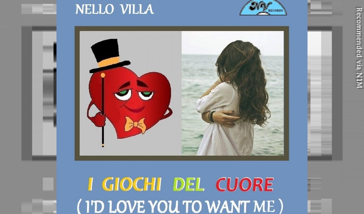 """I Giochi del Cuore - Italian Version Cover """"I'd Love You To Want Me"""" by Lobo (Roland Kent Lavoie)"""
