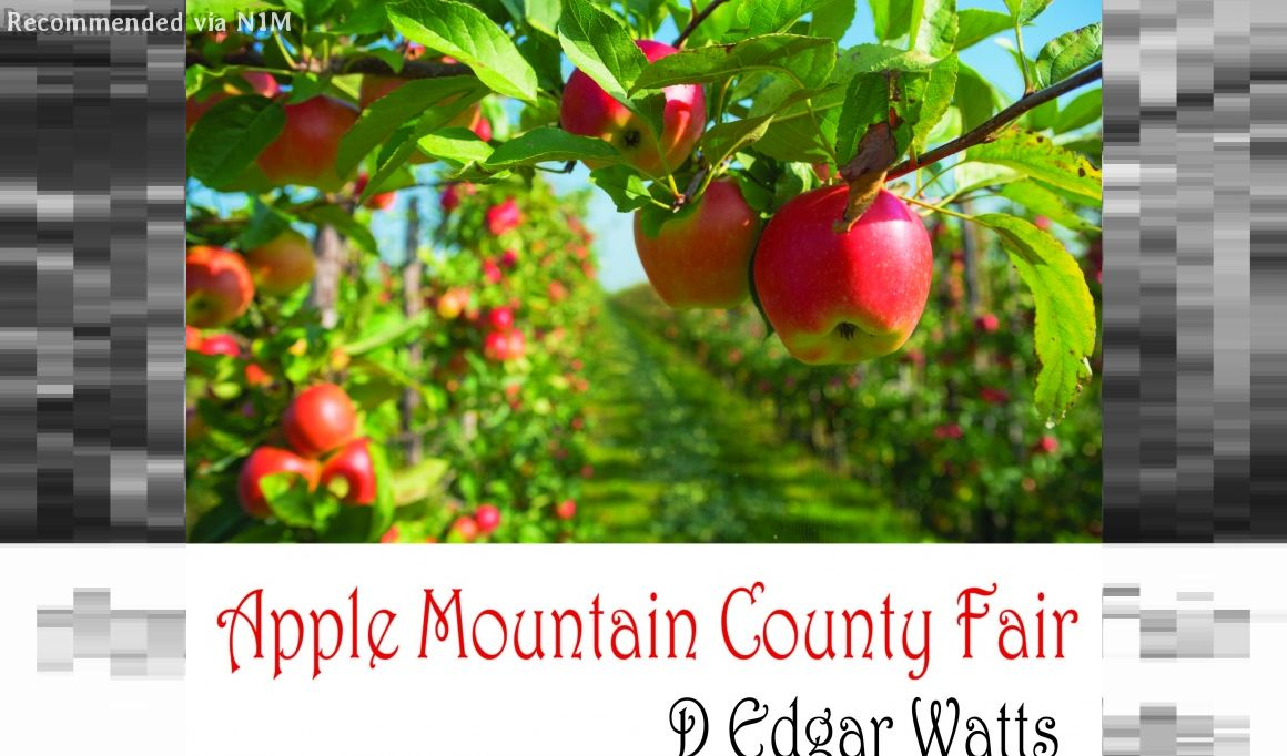 Apple Mountain County Fair (by D. Edgar Watts)