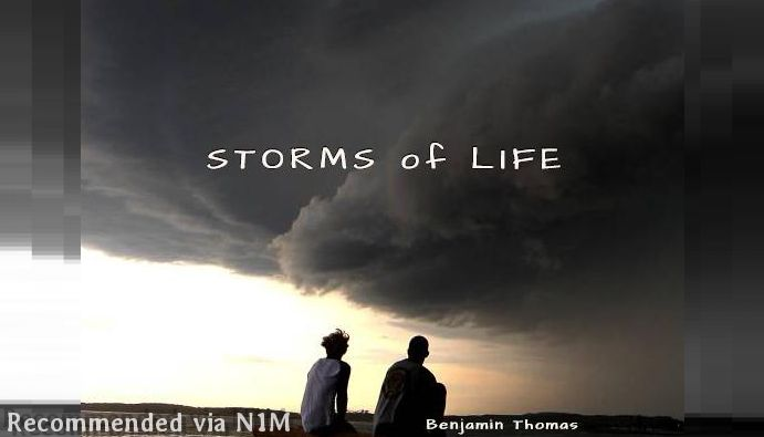 "STORMS OF LIFE (JUBAL) ""THIS SONG IS POETIC SET TO MUSIC FOR THOSE WHO FEEL THEY ARE IN THE MIDST OF A STORM"""