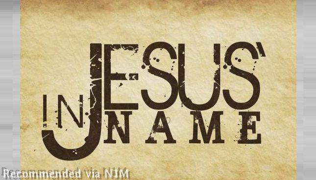 IN JESUS NAME / SIGNS -WONDERS & MIRACLES HAPPEN !